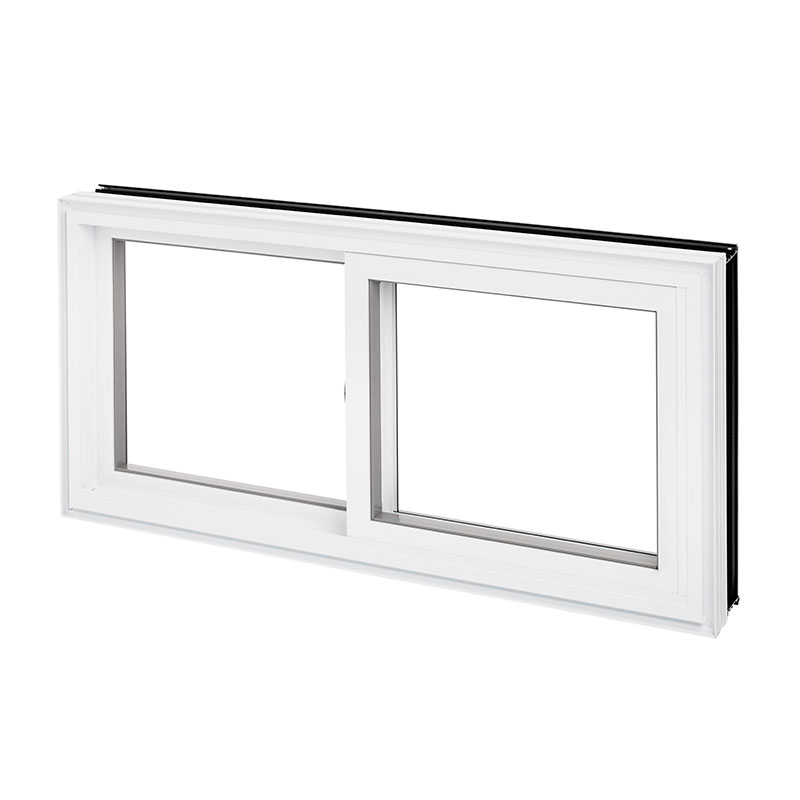 Fen tre hybride coulissante aluminium pvc les fen tres for Fenetre pvc coulissante renovation