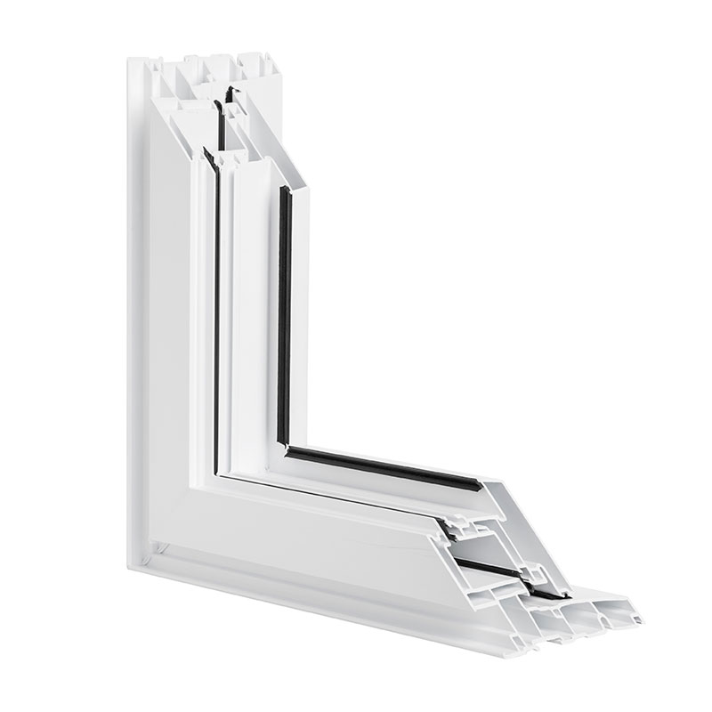 Fenêtre battant en PVC et fenêtre auvent en PVC PVC