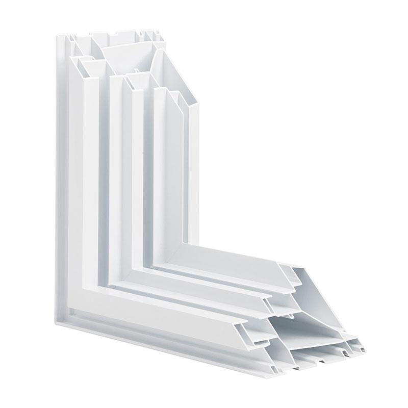 Fenêtre coulissante et fenêtre guillotine double en PVC
