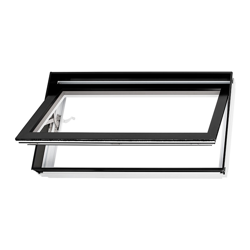 Fenêtre battant hybride, combo aluminium PVC
