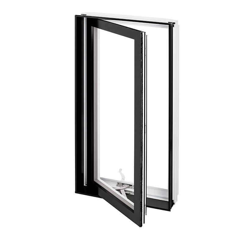 Fenêtre hybride Battant Auvent Combo Aluminium PVC