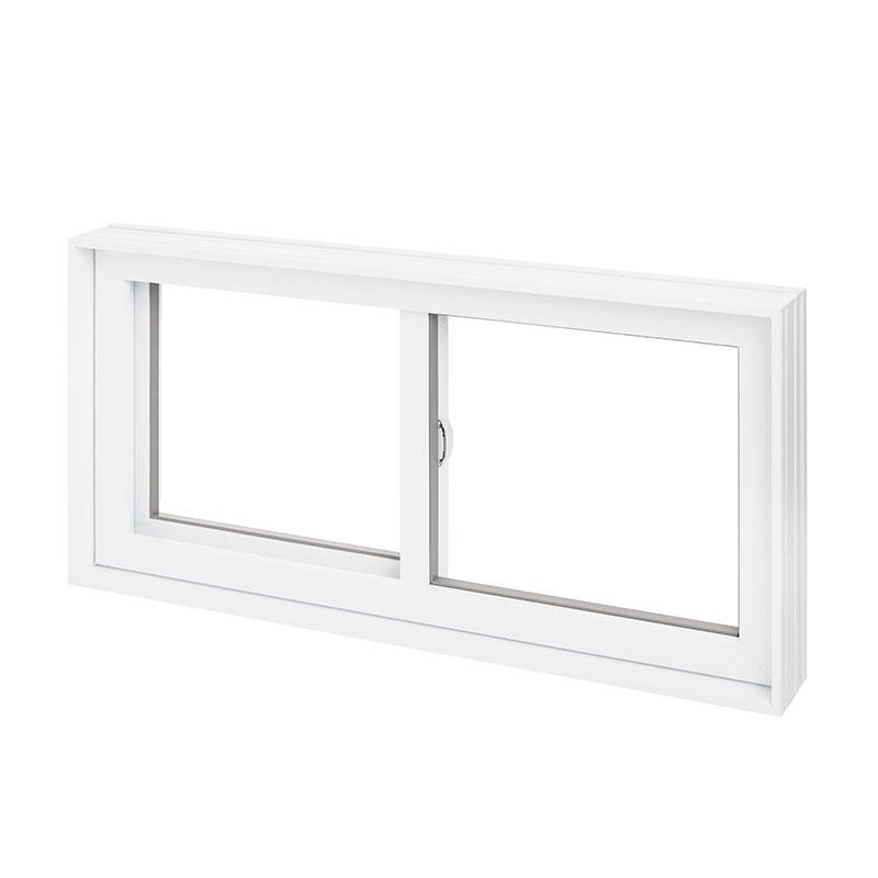 fenêtre coulissante en PVC simple