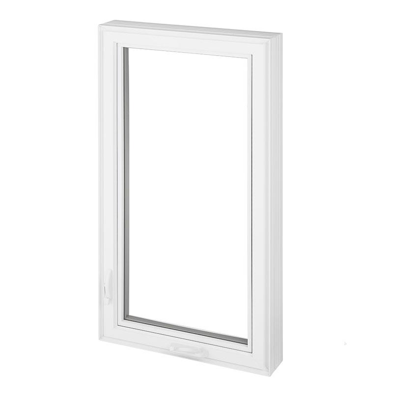 Fenêtre battant en PVC et fenêtre auvent en PVC