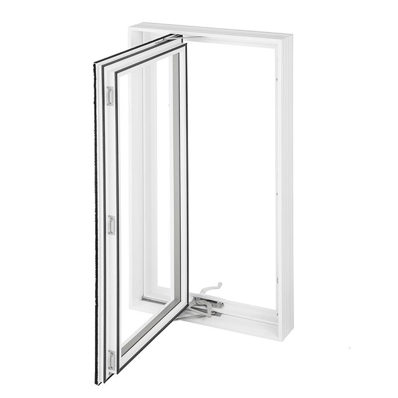 Fenêtres battant en PVC et fenêtre auvent en PVC