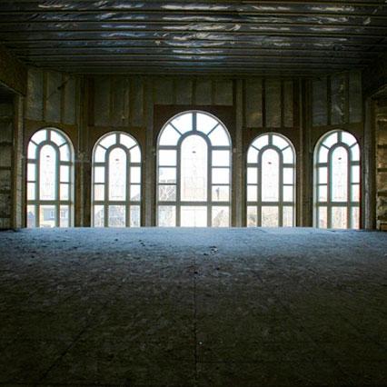 Fenêtre hybride architectural