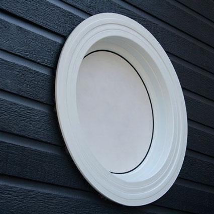 Fenêtre architectural en PVC