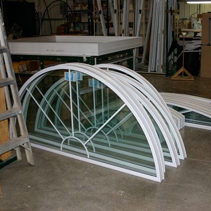 Fenêtre en PVC architectural